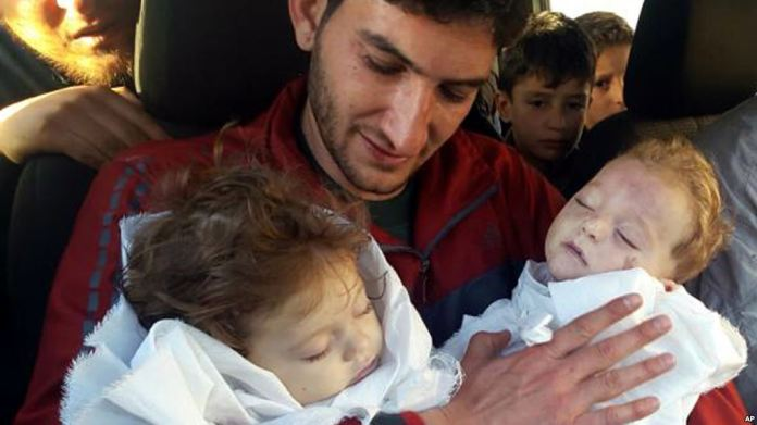 Syria chemical attack Khan Sheikhoun