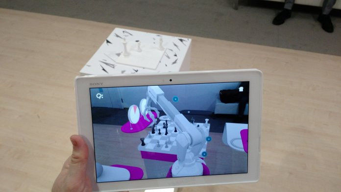 Augmented Reality Mixed reality AR MR