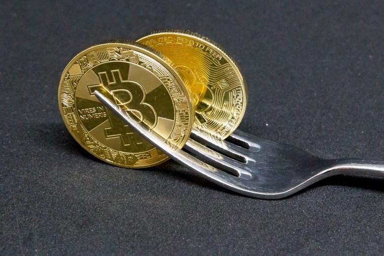 bitcoin blockchain fork