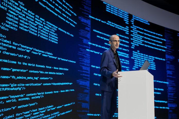 Yuval Harari World Economic Forum
