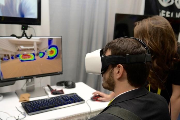 VR eye tracking