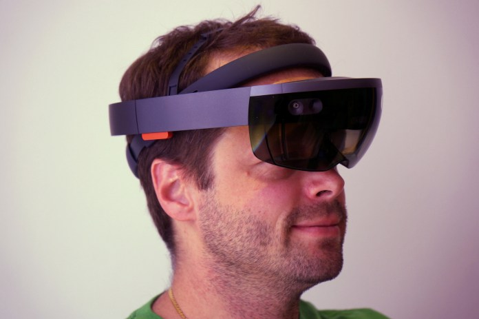 Microsoft HoloLens AR headset