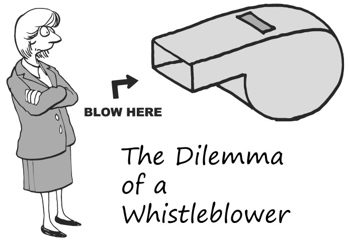 dilemma-of-whistleblower