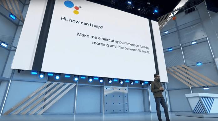 Google IO 2018 sundar pichai keynote Duplex