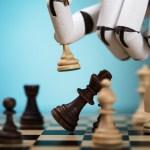 Robot Playing Chess