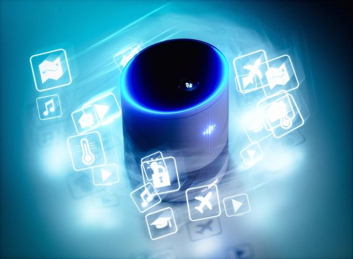 smart speaker voice assistant