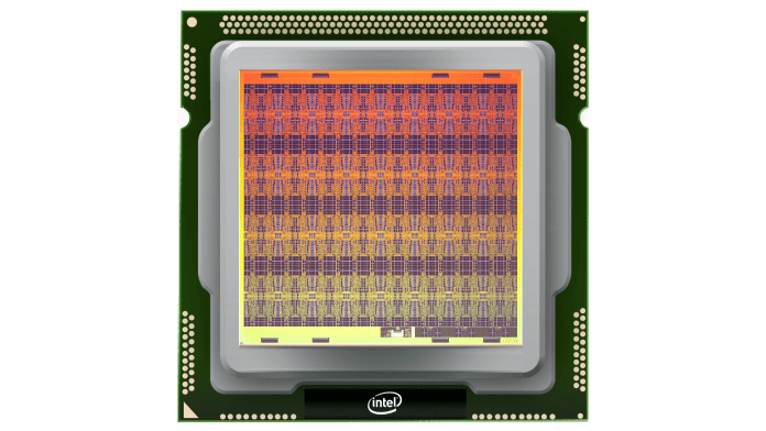 intel Loihi neuromorphic chip