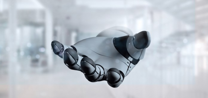 robot hand artificial intelligence