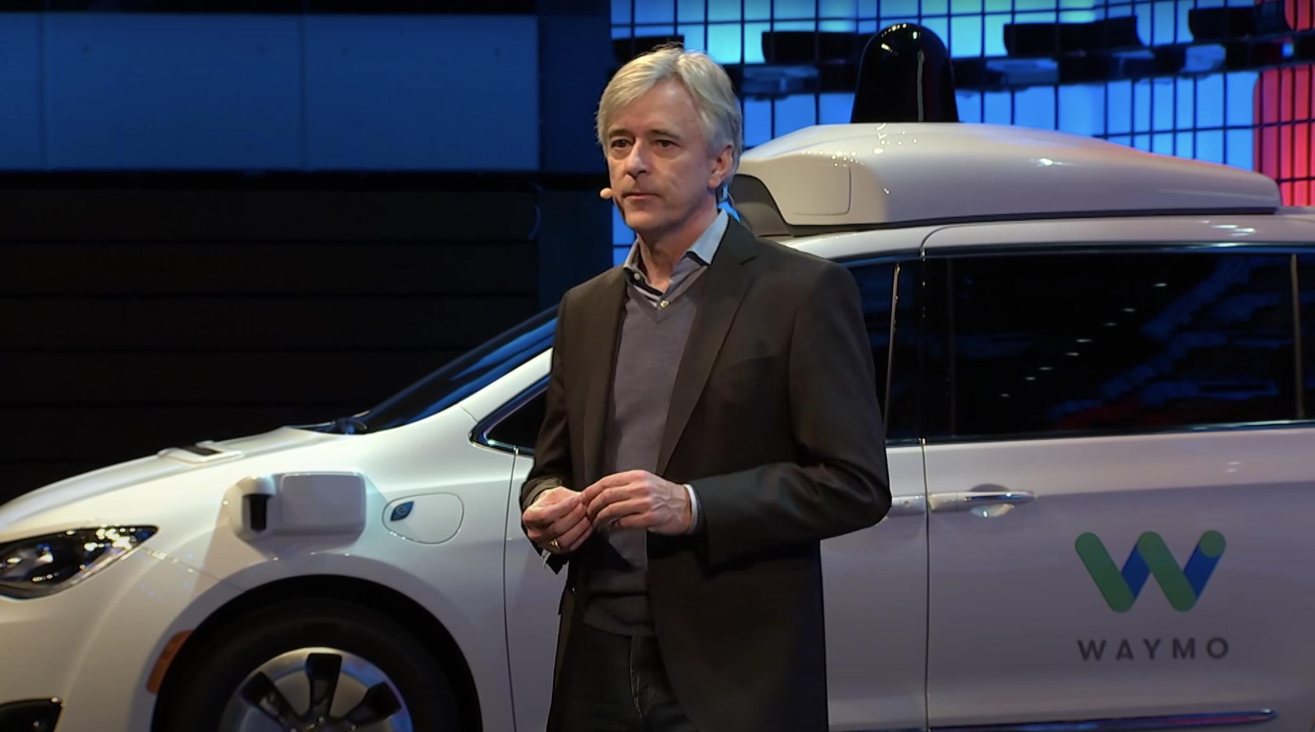 John Krafcik Waymo CEO