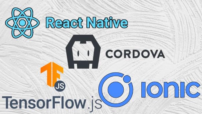 javascript mobile app machine learning