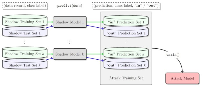 membership inference attack models