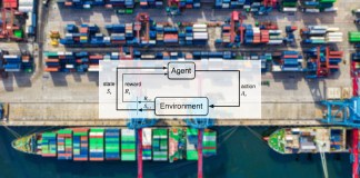 Reinforcement learning supply chain