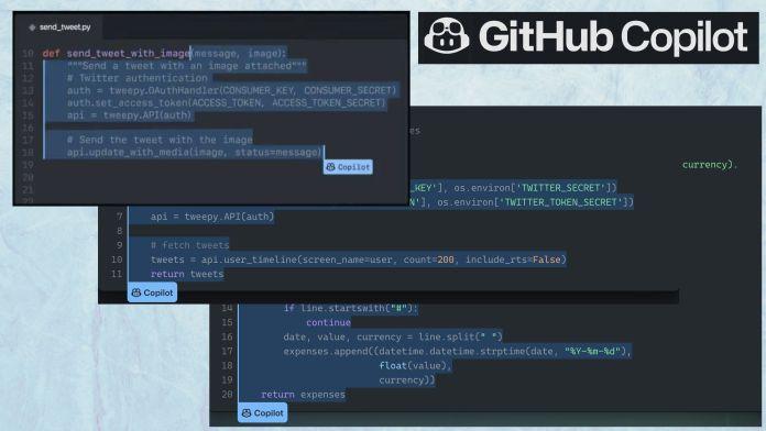 github copilot code generation