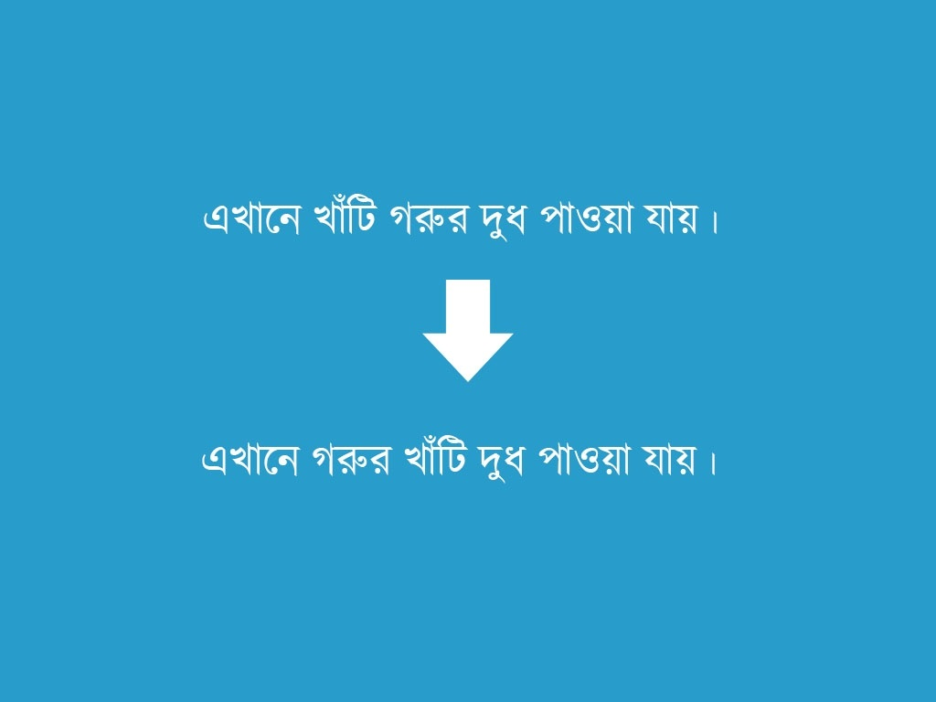 বাংলা ভাষায় প্রয়োগ-অপ্রয়োগ