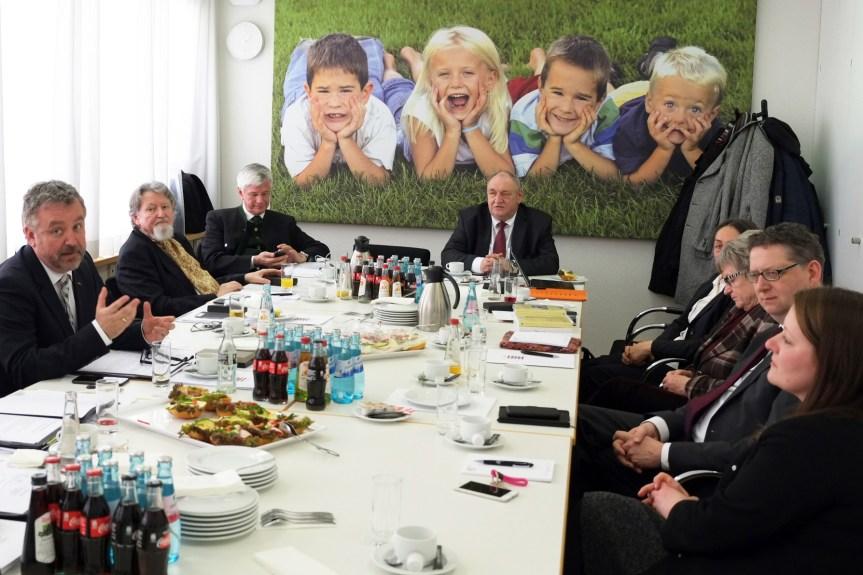 BdV-Präsidium tagte auf Einladung des Landtagspräsidenten in Wiesbaden. Intensive Gespräche im Hessischen Landtag