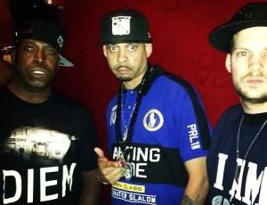 B. Dvine, Comet, & Lil Fame – Backstage @ Cormega Show (Brooklyn, NY)