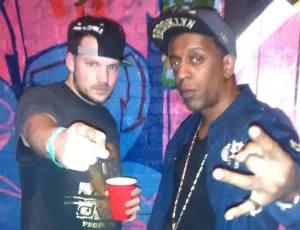 B. Dvine & Da Sunofsam @ Overspray Show (Staten Island, NY)