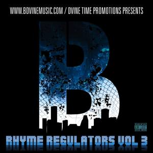 B. Dvine - Rhyme Regulators Vol 3 Cover