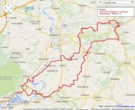 Dieren – Lochem – Doesburg – Dieren, 91 km.