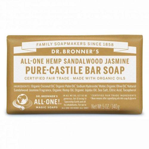 Dr. Bronner's Pure-Castile Bar Soap - Sandalwood Jasmine