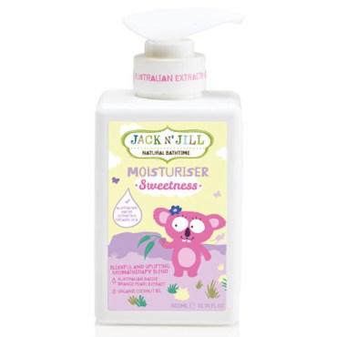 Children Love Health Jack N Jill Natural Bath Time Moisturiser Sweetness