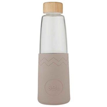 SoL Re-usable glass Bottle Seaside Slate