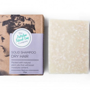 The Australian Natural Soap Company Solid Shampoo for dry hair