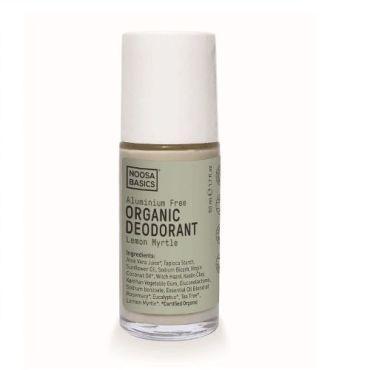 Organic Deodorant Roll On Lemon Myrtle