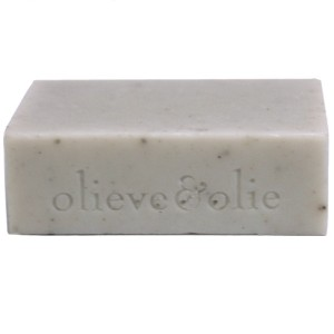 Olieve Soap Bar 80g - Blue Gum, Cedarwood & Bentonite Clay (unpackaged)