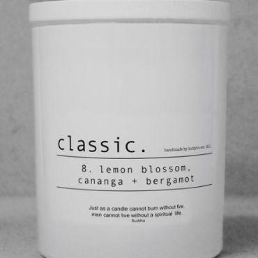 CLASSIC No.8 'lemon blossom, cananga + bergamot'