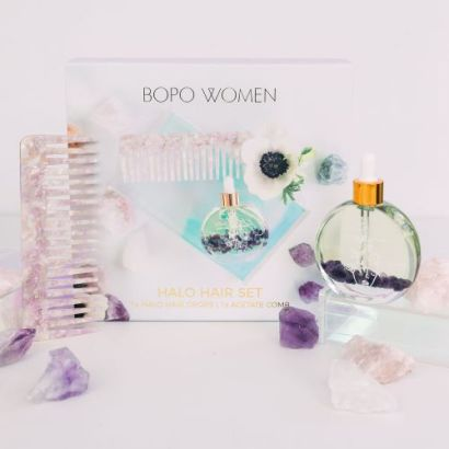 BOPO Women Halo Hair Set with Comb