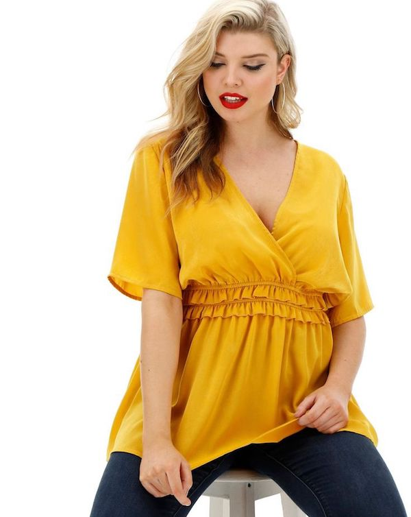 UNRULY | The Curvy Woman's Guide to S[ring 2019's Marigold Yellow Color Trend