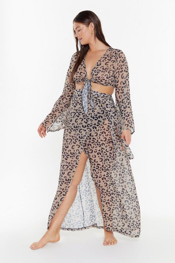 UNRULY   A Plus-Size Take on This Season's Sheer Clothes Trend