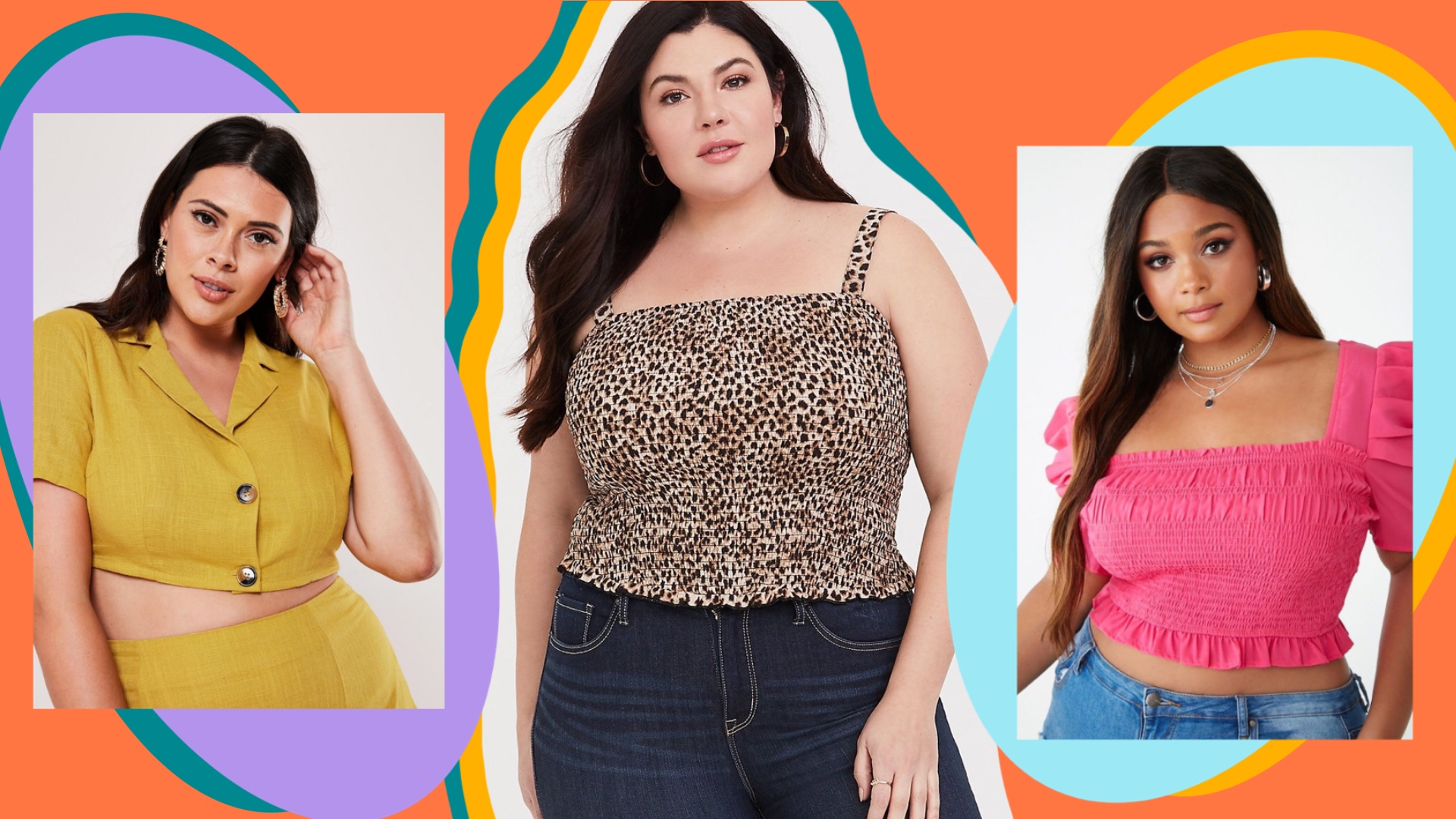 UNRULY | Plus-Size Crop Tops