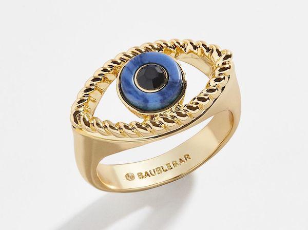 A plus-size eye ring.