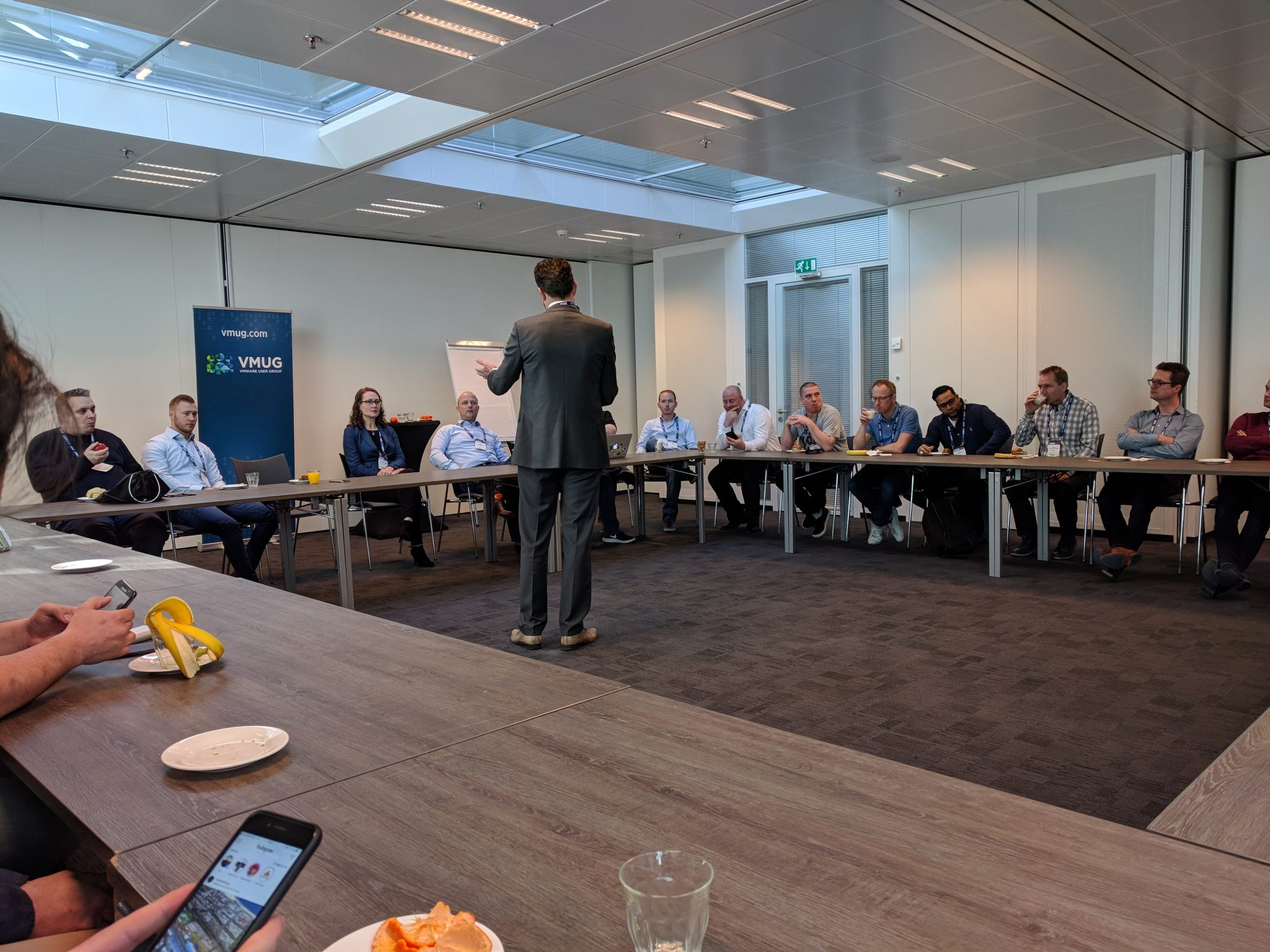 """Dutch VMware vExperts joined together for a meal and a good session about """"How to become more influential"""" by Amy Lewis"""