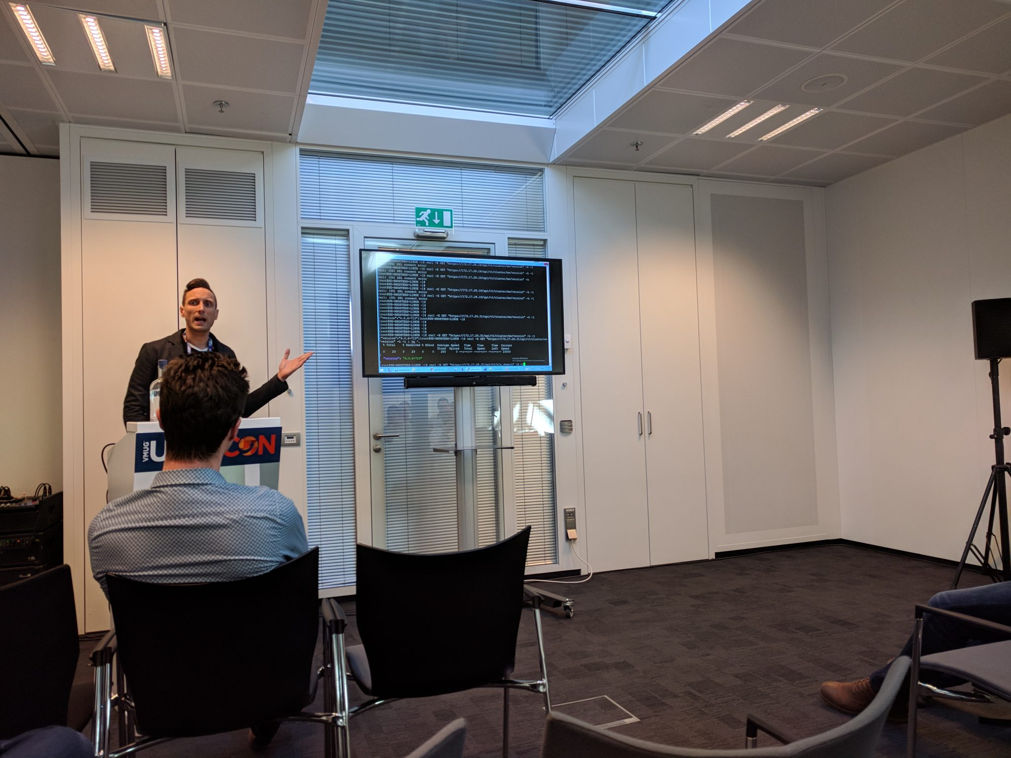 Rutger Kosters talking about the Rubrik REST API