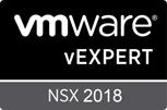 VMware vExpert NSX 2018 - Badge