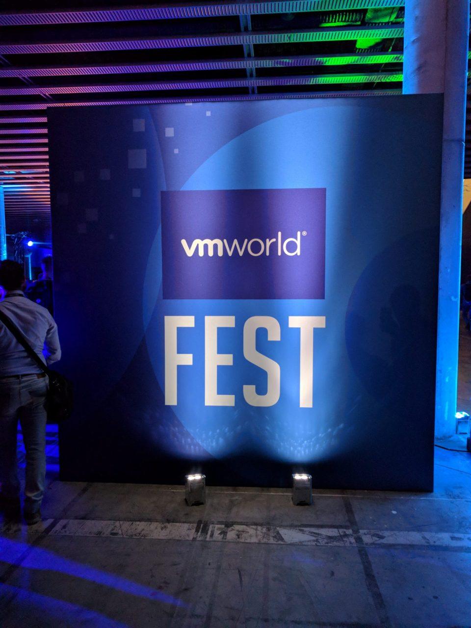 VMworld 2018 EU - FEST