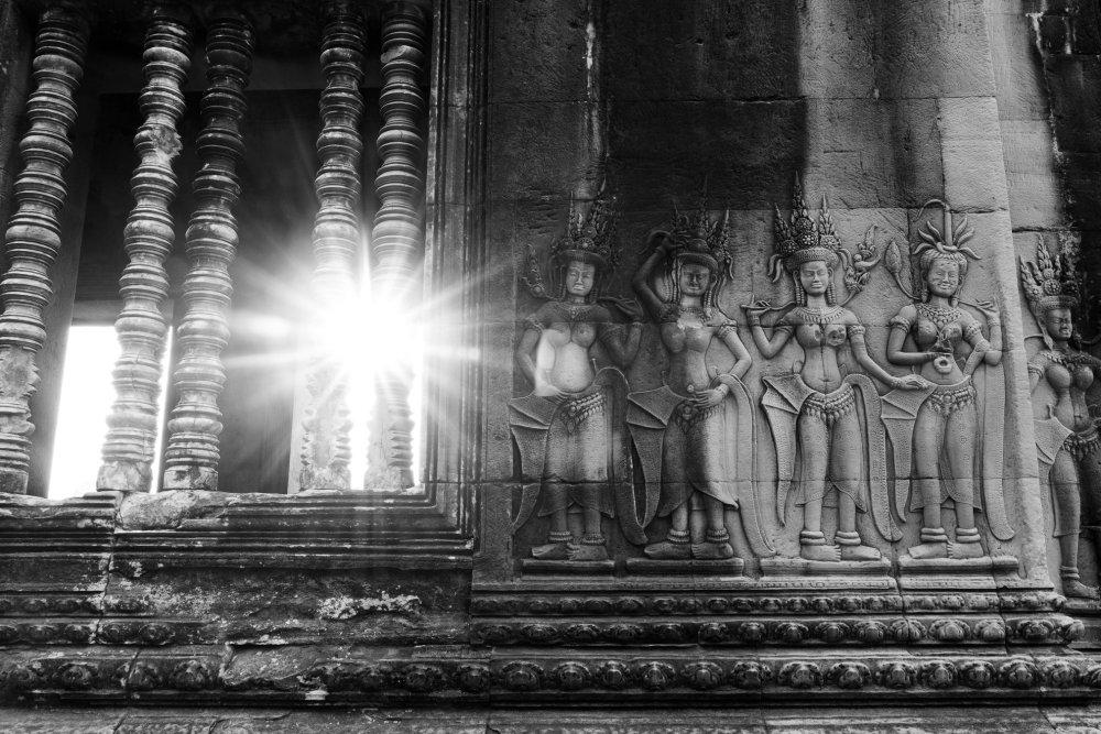 Photo taken at Angkor Wat
