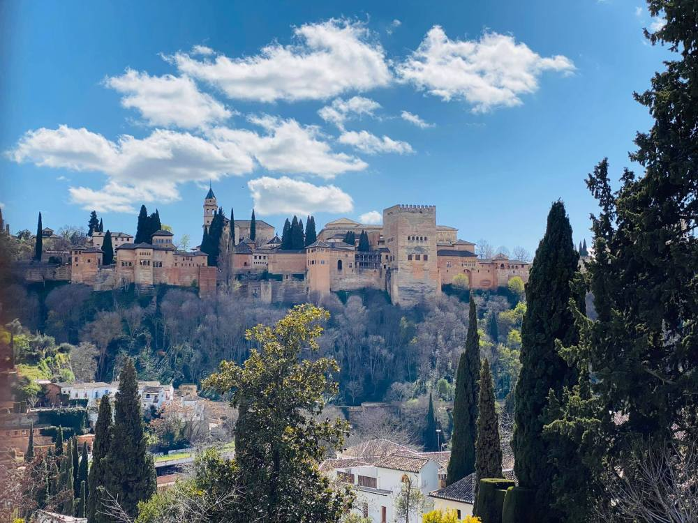 View of the Alhambra from Sacromonte, Granada