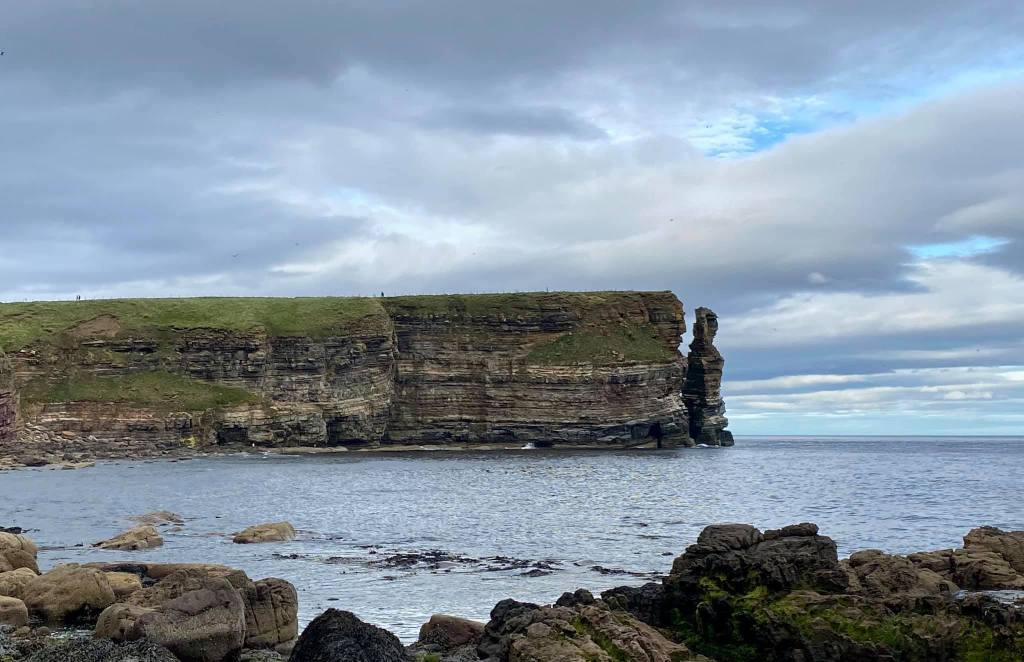 Outcrop of land in the most northern part of mainland Scotland
