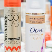 CoLab Vs Dove Dry Shampoo Review