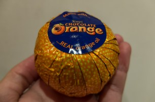 Chocolate orange, we will miss you!