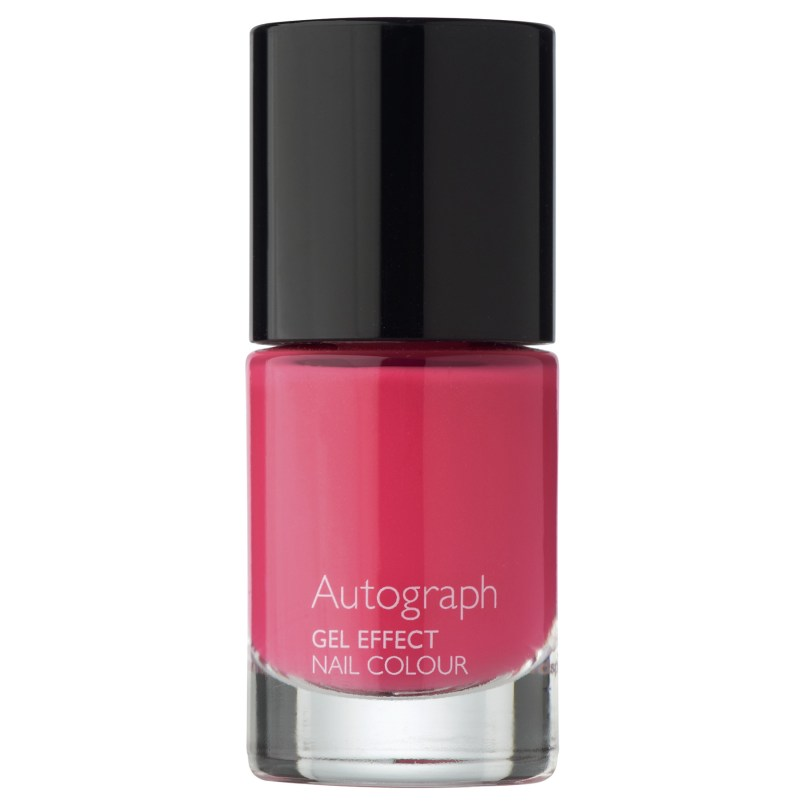 Autograph Gel Effect Nail Colour in Raspberry £6