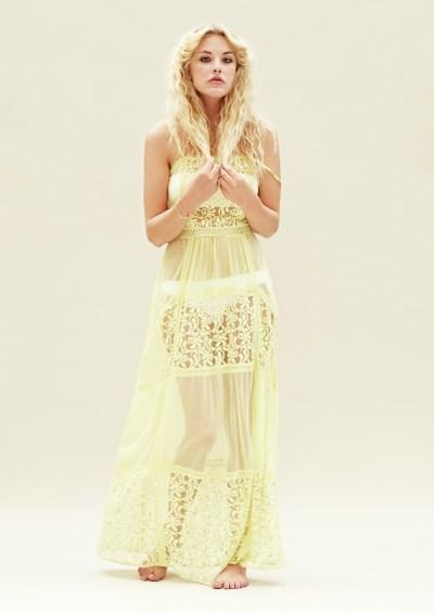 Lace maxi dress £17