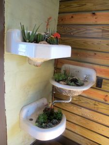 upcycling sinks