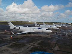 Elite Airways commercial Fleet in Vero Beach