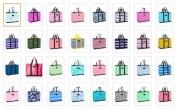 beach bag color choices