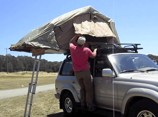ARB 3101 Simpson III Brown Rooftop Tent review